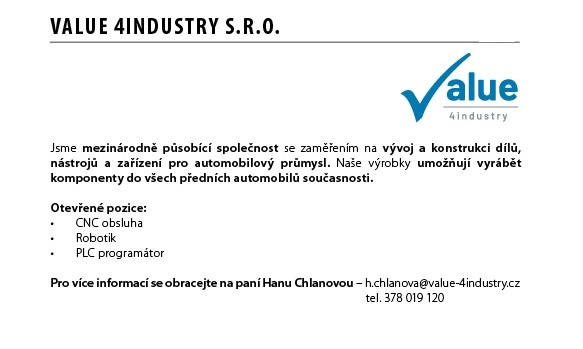 VALUE 4industry, s.r.o.